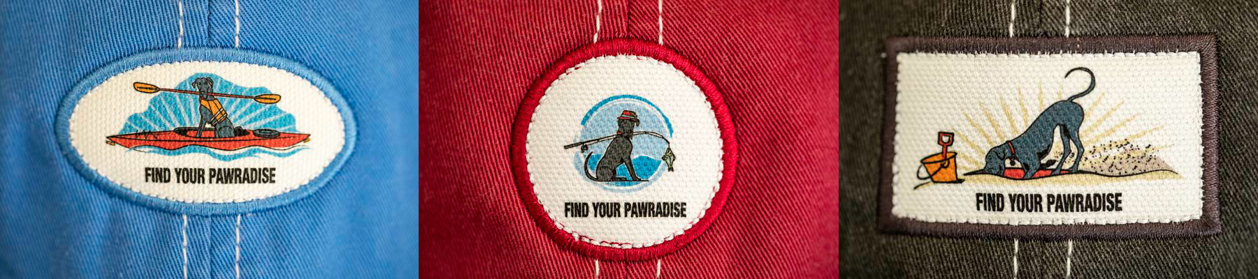 FIND YOUR PAWRADISE scenes
